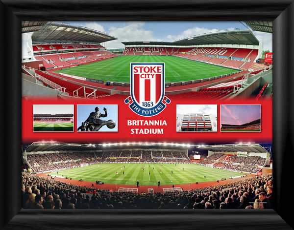 "Quality framed photographic print featuring an empty and match image. STOK105 - 406x305mm (16x12"") STOKE117 - 203x152 (8x6"")"
