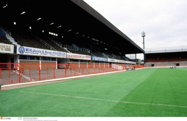 Football - Stoke City - 1980 - The Victoria Ground. General view of the Victoria Ground home of Stoke City