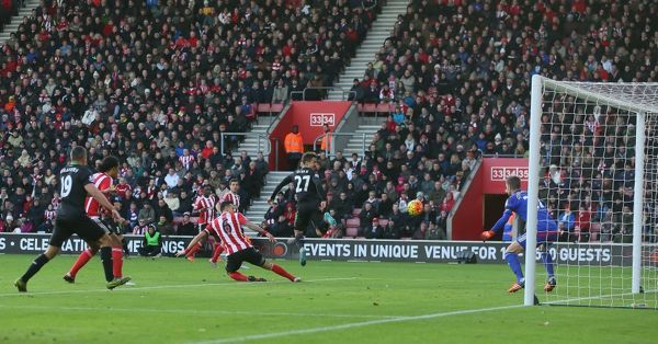 stoke city football club - Southampton v Stoke City Premier League match at the St Marys Stadium 21st November 2015 final score 0-1 win for Stoke with goal scored by Bojan Krkic - A© phil greig 2015 - created by phil greig