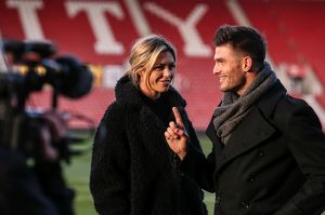 Abbey Clancy & Aljaz Skorjanec from Strictly come dancing