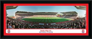 Britannia Stadium Framed Match Panoramic